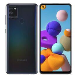 Samsung Galaxy A21S 64GB 4GB Dual (A217) fekete, Gyártói garancia
