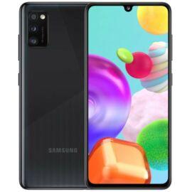 Samsung Galaxy A41 64GB Dual SIM, fekete, Gyártói garancia