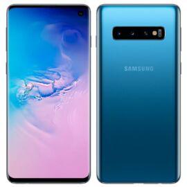 Samsung G973F Galaxy S10 128GB Dual Sim, kék, Gyártói garancia