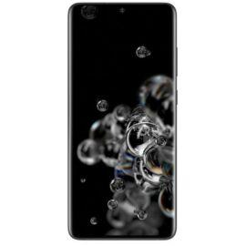 Samsung Galaxy S20 Ultra 5G 128GB 12GB RAM Dual, fekete, Gyártói garancia