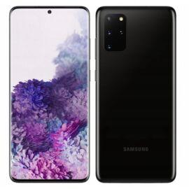 Samsung Galaxy S20+ 5G 128GB 12GB RAM Dual (G986B) fekete, Gyártói garancia