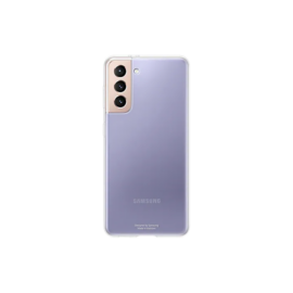 Samsung G991 Galaxy S21 Clear Cover, gyári tok, átlátszó, EF-QG991TT