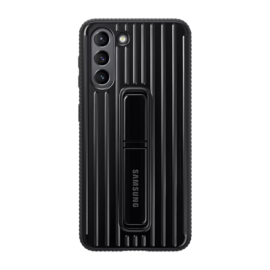 Samsung G991 Galaxy S21 Protective Standing Cover gyári tok, fekete, EF-RG991CB