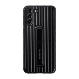 Samsung G996 Galaxy S21+ Protective Standing Cover gyári tok, fekete, EF-RG996CB