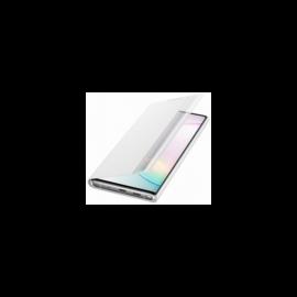 Samsung N970 Galaxy Note 10 gyári Clear View Cover, flip tok, fehér, EF-ZN970CW