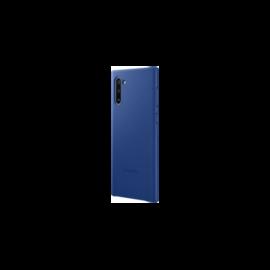 Samsung N970 Galaxy Note 10 Leather Cover, gyári bőr tok, kék, EF-VN970LLE