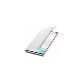 Samsung N975 Galaxy Note 10+ Clear View Cover, gyári flip tok, fehér, EF-ZN975CW