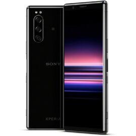 Sony Xperia 5 (J9210) 128GB 6GB Dual fekete, Gyártói garancia