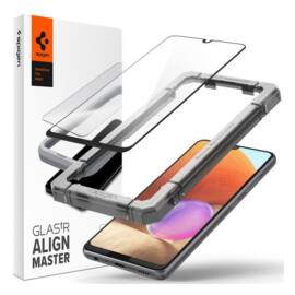 Spigen AlignMaster Glas.tR Samsung Galaxy A32 LTE Tempered kijelzővédő fólia