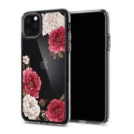 Spigen Ciel Cyrill Apple iPhone 11 Pro Red Floral tok, virág