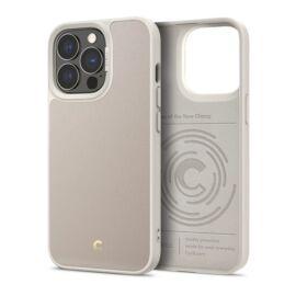 Spigen Ciel Cyrill Apple iPhone 13 Pro Leather Brick Cream tok, Cream