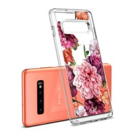 Spigen Ciel Cyrill Samsung Galaxy S10 Cecile tok,  virág