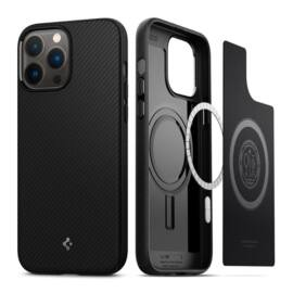 Spigen Core Armor Mag Apple iPhone 13 Pro Matte Black Magsafe tok, fekete