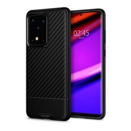 Spigen Core Armor Samsung Galaxy S20 Ultra Matte Black tok, fekete