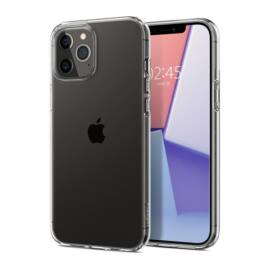 Spigen Crystal Flex Apple iPhone 12 Pro Max Crystal Clear tok, átlátszó