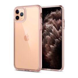 Spigen Crystal Flex Apple iPhone 12 mini Rose Crystal tok, rózsaszín átlátszó