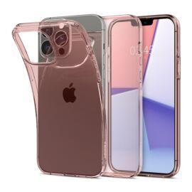 Spigen Crystal Flex Apple iPhone 13 Pro Rose Crystal tok, rózsaszín-átlátszó