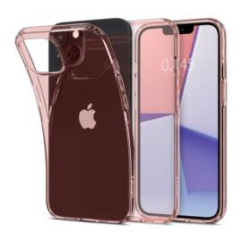 Spigen Crystal Flex Apple iPhone 13 mini Rose Crystal tok, rózsaszín-átlátszó