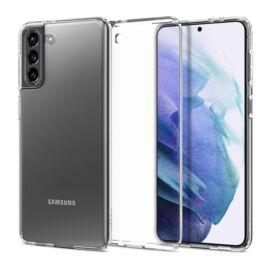 Spigen Crystal Flex Samsung G991 Galaxy S21 Crystal Clear tok, átlátszó