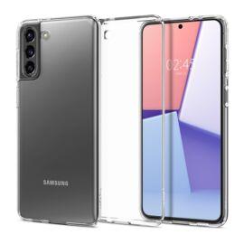 Spigen Crystal Flex Samsung G996 Galaxy S21+ Crystal Clear tok, átlátszó