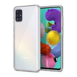 Spigen Crystal Flex Samsung Galaxy A51 Crystal Clear tok, átlátszó