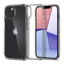 Spigen Crystal Hybrid Apple iPhone 13 mini Crystal Clear tok, átlátszó