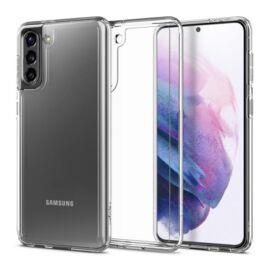 Spigen Crystal Hybrid Samsung G991 Galaxy S21 Crystal Clear tok, átlátszó