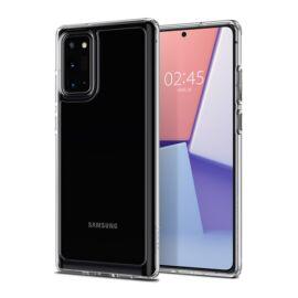 Spigen Crystal Hybrid Samsung Galaxy Note 20 Crystal Clear tok, átlátszó