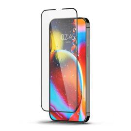Spigen Glass FC Apple iPhone 13 Pro Max Tempered kijelzővédő fólia, fekete