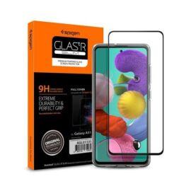 Spigen Glass FC Samsung Galaxy A51 Tempered kijelzővédő fólia