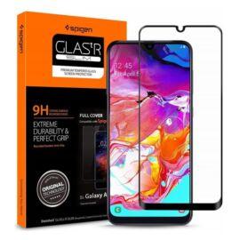 Spigen Glass FC Samsung Galaxy A70 Tempered kijelzővédő fólia