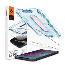 "Spigen ""Glas.tR SLIM EZ Fit"" Apple iPhone 12 Pro Max Tempered kijelzővédő fólia (2db)"