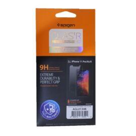 """Spigen """"Glas.tR SLIM HD"""" Apple iPhone 11 / XR Antibakteriális Tempered kijelzővédő fólia"""