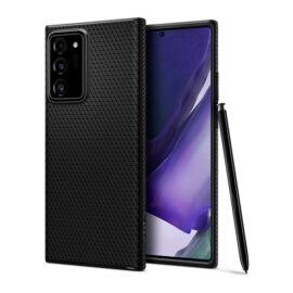 Spigen Liquid Air Samsung Galaxy Note 20 Ultra Matte Black tok, fekete