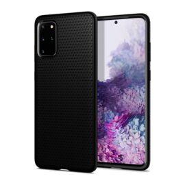 Spigen Liquid Air Samsung Galaxy S20+ Matte Black tok, fekete