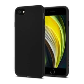 Spigen Liquid Crystal 2 Apple iPhone SE(2020)/8/7 Matte Black tok, fekete