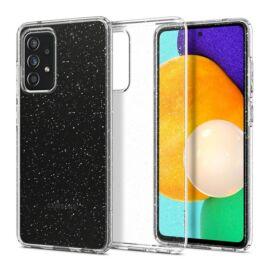 Spigen Liquid Crystal Glitter Samsung Galaxy A52 5G/A52 Crystal Clear tok, átlátszó