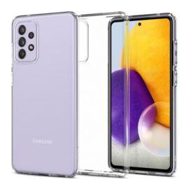 Spigen Liquid Crystal Samsung Galaxy A72 Crystal Clear tok, átlátszó