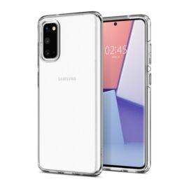 Spigen Liquid Crystal Samsung Galaxy S20 Crystal Clear tok, átlátszó