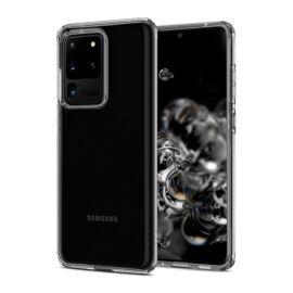 Spigen Liquid Crystal Samsung Galaxy S20 Ultra Crystal Clear tok, átlátszó
