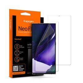 Spigen Neo Flex HD Samsung Galaxy Note 20 Ultra hajlított kijelzővédő fólia, (2db előlapi)