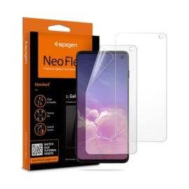 Spigen Neo Flex HD Samsung Galaxy S10 hajlított kijelzővédő fólia, (2db előlapi)