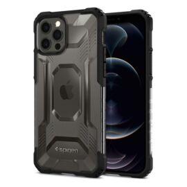 Spigen Nitro Force Apple iPhone 12/12 Pro Matte Black tok, fekete
