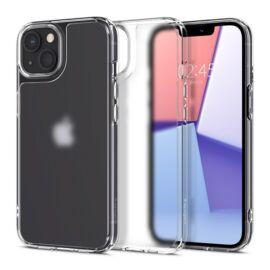 Spigen Quartz Hybrid Apple iPhone 13 mini Matte Clear tok, fekete-átlátszó