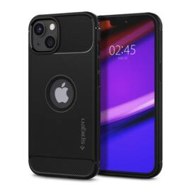 Spigen Rugged Armor Apple iPhone 13 mini Matte Black tok, fekete