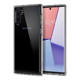 Spigen Crystal Hybrid Samsung Galaxy Note 10 Crystal Clear tok, átlátszó