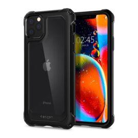 Spigen Gauntlet Apple iPhone 11 Pro Carbon Black tok, fekete