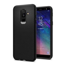 Spigen Liquid Air Samsung Galaxy A6+ Black tok, fekete
