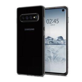 Spigen Liquid Crystal Samsung Galaxy S10 Crystal Clear tok, átlátszó