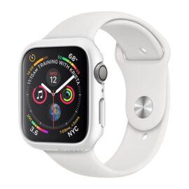 Spigen Thin Fit Apple Watch S4/S5/S6/SE 40mm Fehér tok, szíj nélkül